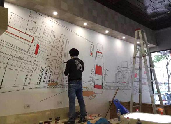 温州墙绘手绘位置如何选择?